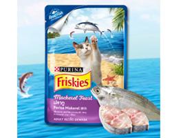 泰国原装进口喜跃成猫鲭鱼软包