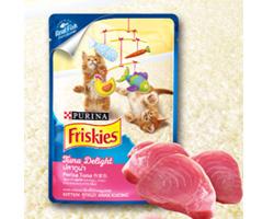 喜跃幼猫吞拿鱼软包装罐头 美
