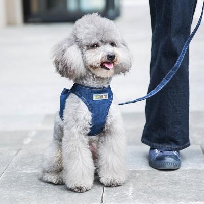 中小型犬背心式牵引绳遛狗绳【买一送一】,可买得用户专享3元天猫优惠卷,