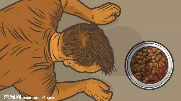 狗狗吃食时,不让任何人靠近该怎么办