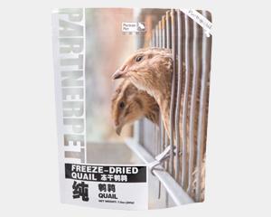 帕特诺尔鹌鹑冻干 猫咪通用生骨肉