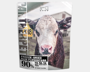 帕特诺尔牛肉冻干 生骨肉天然营养增肥成幼猫粮